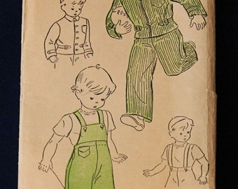 1940's New York Pattern Boys Outifts