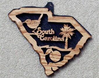 South Carolina State Plaque
