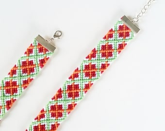 Ipala - handmade friendship bracelet with cotton threads