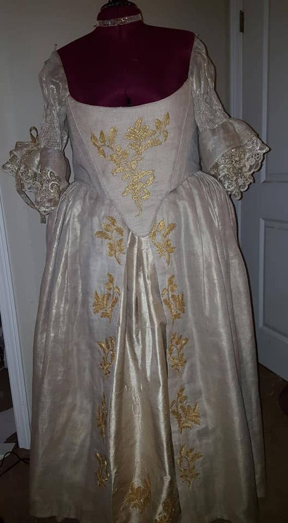 Scottish Outlander Wedding Gown (MADE TO ORDER)