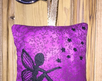 Fairy, Fairies, Lavender Bag, English Lavender, Room Freshener, Gift for her, Birthday Gift, Lavender Sachet, Sleep, Relaxing, Fairies