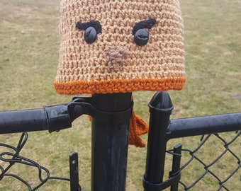 Red-Tailed Hawk Crochet Hat-FREE SHIPPING-All Sizes Available