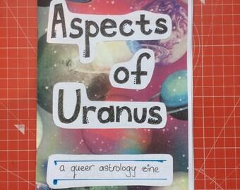 Aspects of Uranus - a queer astrology zine [PDF COPY]