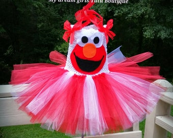 Elmo Tutu Dress Elmo tutu for baby girl Elmo tutu for toddler girl Elmo tutu for birthday party Elmo tutu dress Elmo smash cake tutu & Elmo toddler costume | Etsy
