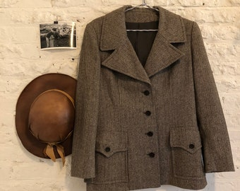 Union custom made tweed jacket