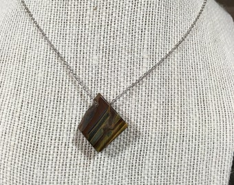 Tiger's eye necklace 46