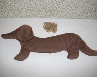 dachshund grains pillow heat pillow cold pillow wheat pillow dog