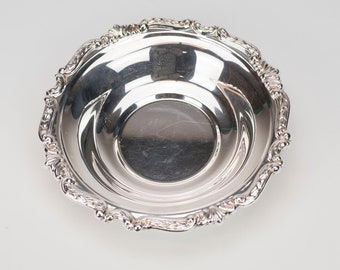 "8"" Silver plate Bowl"