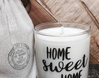 House Warming Gift * New Home Gift * Hostess Gift * House Warming Candle * Moving Gift * farmhouse decor * housewarming present