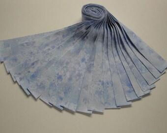 """Honey Bun-""""Sky Blue"""" Cosmos by Wilmington Prints"""