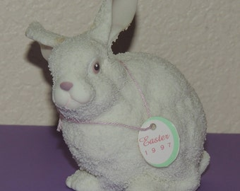 EASTER 1997 Department 56 Large Easter Rabbit