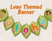 Items Similar To Aloha Luau Birthday Party Banner Quot Aloha