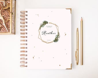 2018-2019 Planner - Weekly Planner - 2018-2019 Weekly Planner - Planner - Custom Planner - 2018 Agenda - 2018 Diary - A5 planner