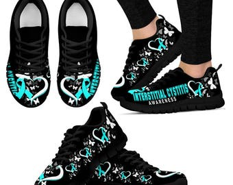 Interstitial Cystitis Advocate/ Interstitial Cystitis Awareness/ Patient Sneakers - Gift For Interstitial Cystitis Advocate/Patient