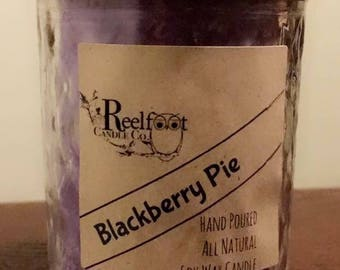 Blackberry pie - Soy Candle