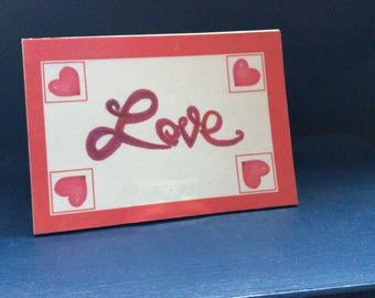 Valentine's Day Memo Holder - 2-sided
