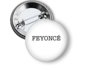 Hen's Night Badge for Bride Feyonce  5.7cm (2.25 inches)