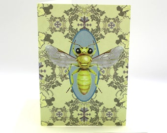 4-pack golden bee cards