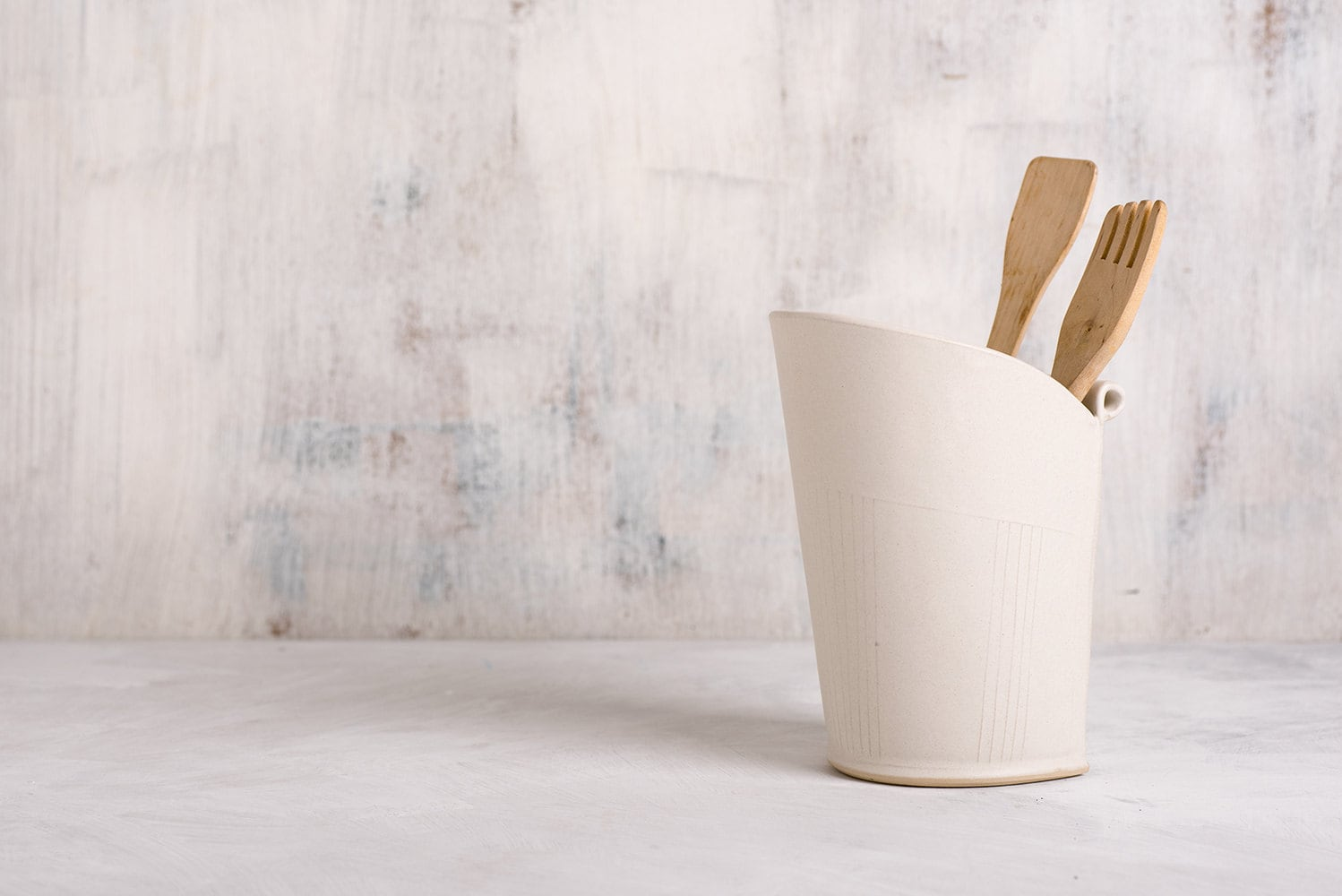 Ceramic utensil holder white storage pot modern utensil jar zoom reviewsmspy