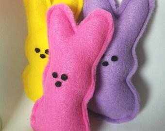 Easter Peeps | Felt Peeps | Easter Bunnies