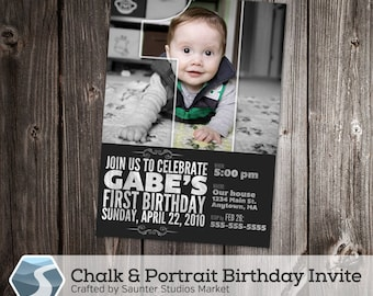 Baseball Card Birthday Invitation X Photoshop Template For - Birthday invitation photoshop template