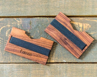 Personalized wallet | Personalized money clip