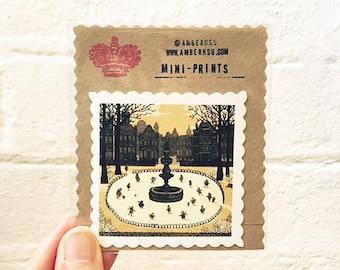 Miniprint: Ice Skaters