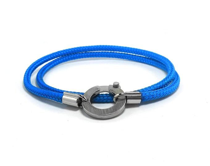 Bracelet with Nautical Rope Unisex Modern Design