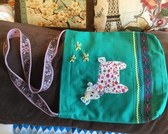 Beautiful handmade hobo bag