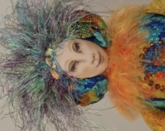 Art Doll - Adelaide - Little Companion OOAK