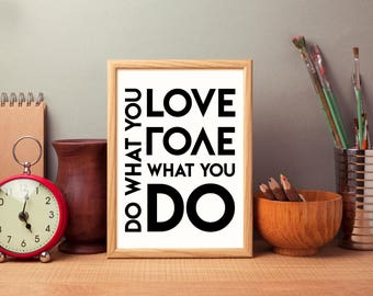 Do What You Love Graphic Print