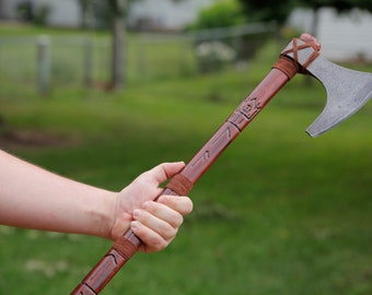 Modified Rune Cold Steel Viking Hand Axe