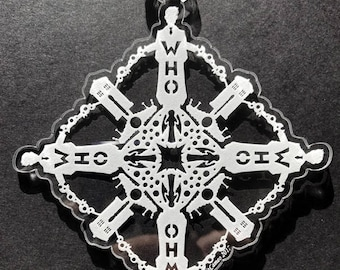 Doctor Who: The Tenth Doctor Snowflake Ornament