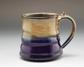 Handmade Pottery Mug Blue...