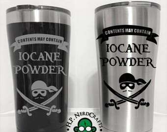 May Contain Iocane Powder Steel Tumbler
