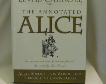 Lewis Carroll - The Annotated Alice - Hardcover Book