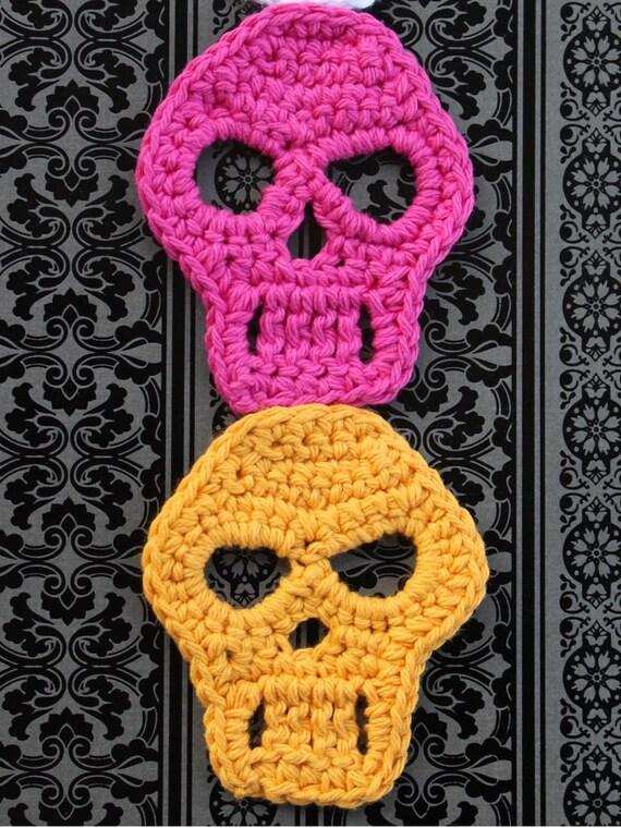CROCHET CALAVERAS dia de los muertos patron de crochet
