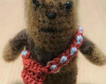 Chewbacca Star Wars crochet figure