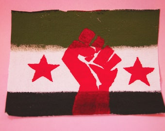 Stand with Syria patch