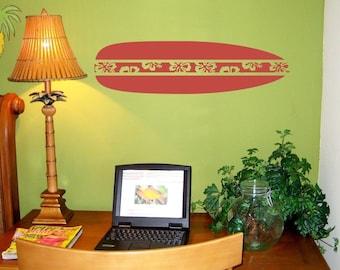 Surfboard Small Wall Decal