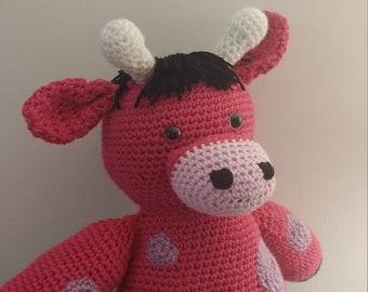 Crochet Amigurumi Giraffe Stuffed Animal
