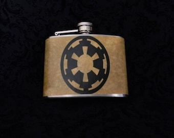 Galacitc Empire , First Order, Rebel Alliance, Jedi  4oz- Stanless Steel Flask