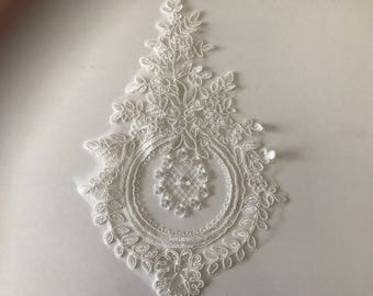 18 * 28 cm white lace Wall lamp