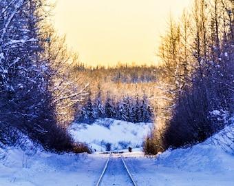 Stay on Track; JBER, AK