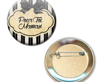 Badge 56 mm - for you family MOM mother parent child gift