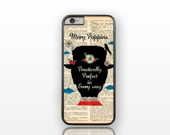Mary Poppins Practically Perfect iPhone 7 case- iPhone 7 Plus- iPhone 6/6s case-6/6s plus-iPhone 5/5S-Galaxy S7-Huawei P9-Natura Picta-NP006