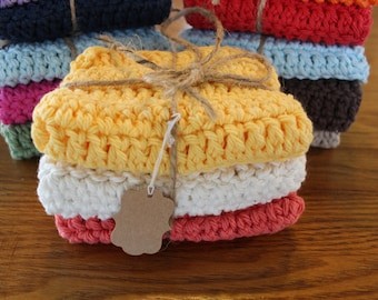 Crcheted Dishcloths