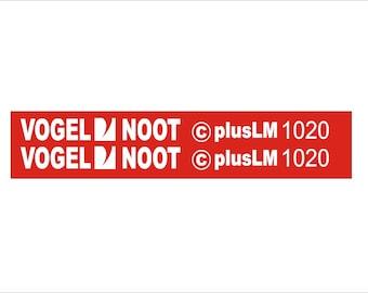 VOGEL MOOT plusLM 1020 - Plough decal set, replica