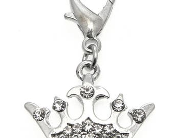 Imperial Crown Dog Collar Charm-Urban pup