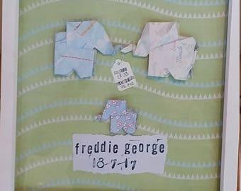 Origami Elephant Frame - Customise
